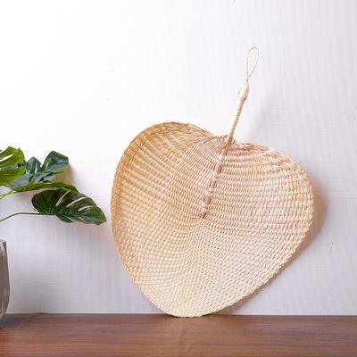 老式便携草编扇子婴儿手工编织蒲扇芭蕉扇夏天儿童驱蚊中国风古典