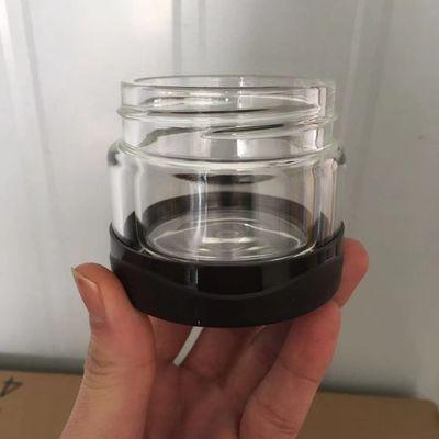 宜加美水杯配件茶仓杯身杯盖胶圈茶水分离泡茶双层玻璃零件不锈钢