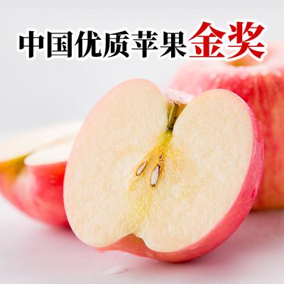 正宗红富士苹果新鲜整箱应季水果冰糖心脆甜水晶富士当季特价批发