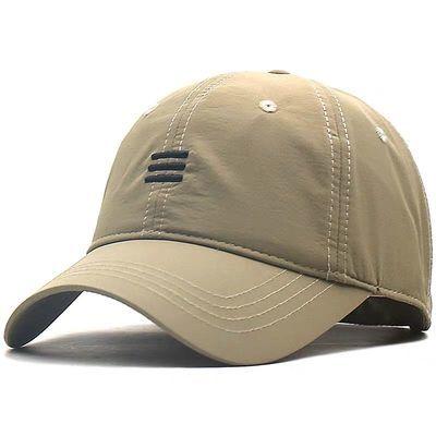 帽子男夏天薄款透气棒球帽大头围休闲鸭舌帽时尚夏季防晒帽遮阳帽