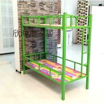 幼儿园儿童床上下床双层床小学生午睡床上下铺铁床高低床学生床
