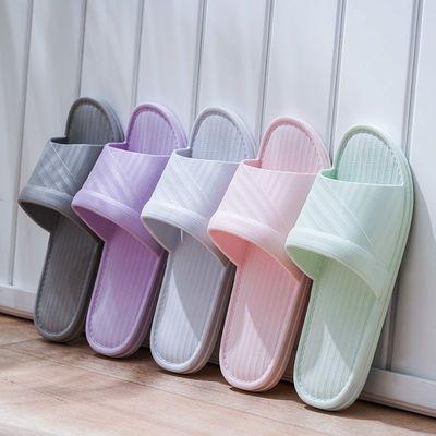 居家室内家用拖鞋女浴室防滑柔软夏季简约情侣款凉拖鞋韩版学生款