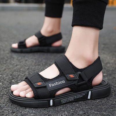 2020新款夏季男士凉鞋潮流韩版百搭室外穿沙滩鞋防滑休闲软底凉拖