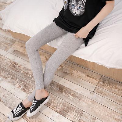 amybaby女童铅笔裤冬季新款加厚羊驼绒儿童打底裤保暖外穿靴裤潮