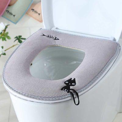 马桶垫】马桶垫马桶垫坐垫坐便套夏季座便垫拉链粘贴【 精品家用