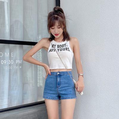 牛仔短裤女2020新款高腰热裤显瘦显高黑色蓝色夏季薄款宽松潮ins