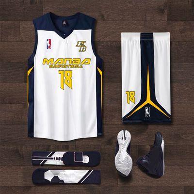 新款白色篮球服套装男定制潮学生比赛训练队服个性印字球衣女背心