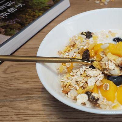 瑞典进口Finax45%水果代餐麦片免煮即食早餐代餐燕麦片650g