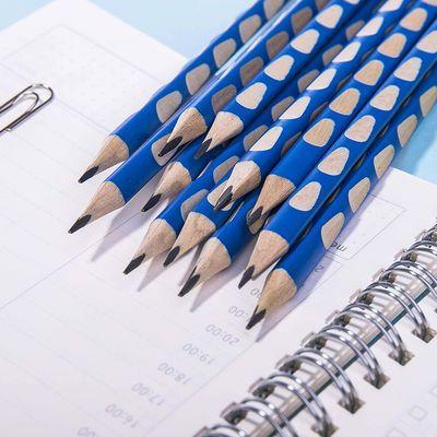 得力铅笔原木无毒铅笔2b学生写字考试绘图铅笔描绘六角杆铅笔