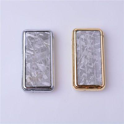 天然瑞典Muonionalusta铁陨石镶嵌USB充电点火两用打火机取火器