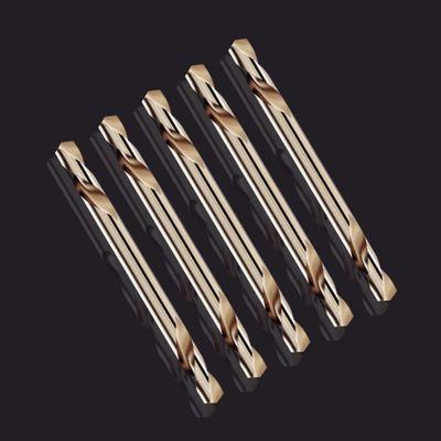 双头麻花钻不锈钢专用手电钻高速钢直柄钻头金属扩孔钻双刃钻42