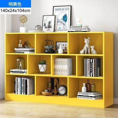 简易书架落地多层客厅收纳置物架学生卧室经济型创意现代阅读书柜【6月6日发完】