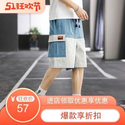 2020夏季热销懂货的来余哥港风运动短裤宽松休闲潮流时尚五分男裤