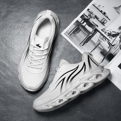 2020春夏季风烽火刀锋鞋子韩版潮流鞋男士透气百搭增高跑步运动鞋