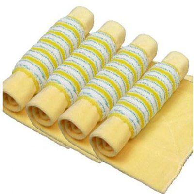 把拖布头夹固式尘推拖把替换布4条装加厚平板拖把替换布木地板拖