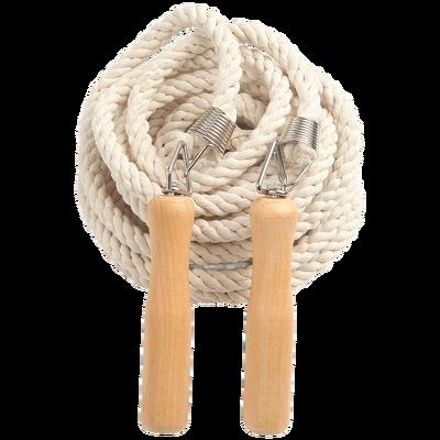 加粗成人多人跳绳长绳子棉麻集体571020米儿童小学生团体大绳