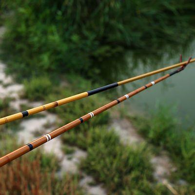 普大师28调鲫鱼竿鲤鱼台钓竿日本碳素超轻超细超硬极细手竿钓鱼竿