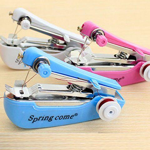 便宜的【加强版】微型家用手持手动缝纫机迷你小型便携简易袖珍缝纫机