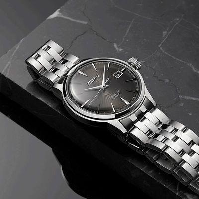 正品品质精工表男女情侣鸡尾酒手表机械手表休闲时尚防水