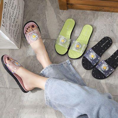 拖鞋女夏居家外穿鞋子女学生韩版网红软底防滑ins时尚百搭凉拖鞋