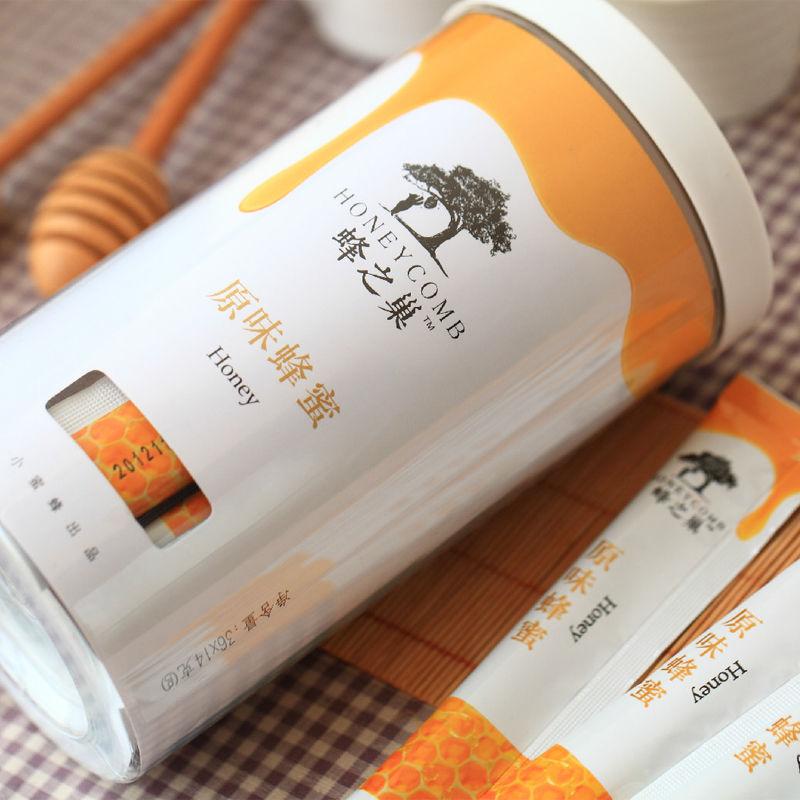 75736-蜂之巢蜂蜜小包装袋装便携礼盒装独立条蜂蜜纯装天然农家自产蜂蜜-详情图