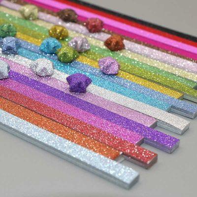 闪钻印花星星纸幸运星折纸叠小五角星手工材料许愿彩纸折星星的纸