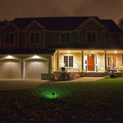 户外灯防水激光灯烧烤排挡公园景观亮化庭院灯地插灯满天星圣诞灯