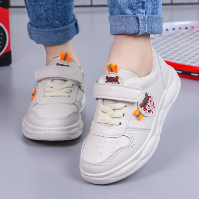 儿童鞋2020春季新款男童运动鞋女童小熊网鞋学生跑步鞋透气小白鞋