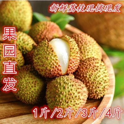 【现摘现发】广东海南妃子笑荔枝1斤/2斤/3斤/4斤/5斤/10斤包邮