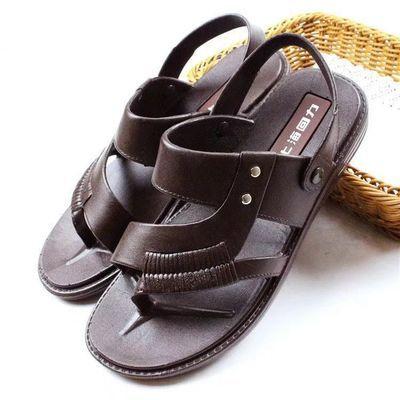 正品上海回力男士凉鞋2020夏新品塑胶料防水凉拖鞋防滑耐磨沙滩鞋