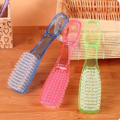 洗鞋刷塑料刷子软毛水晶刷鞋擦多功能地板刷清洁衣服刷子洗衣刷