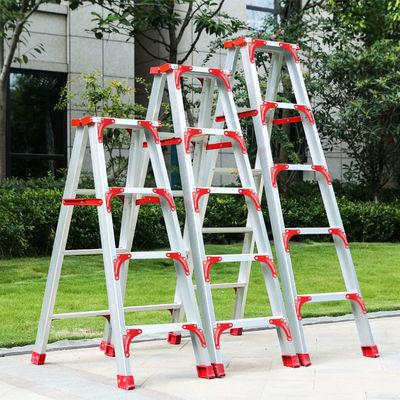 铝合金多功能人字梯子工程阁楼家用室内加厚加宽小梯子可折叠梯子