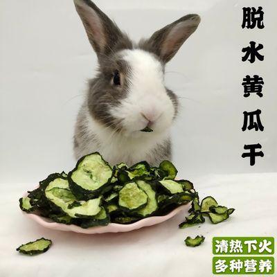 兔子黄瓜干宠物兔蔬菜干龙猫黄瓜片仓鼠豚鼠蔬菜零食兔兔清热黄瓜