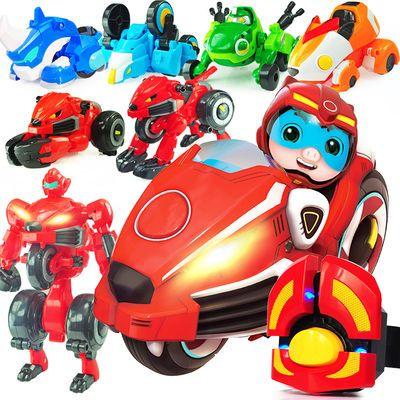猪猪侠竞速小英雄三变系列变形机器人玩具变身器超星萌宠男孩公仔