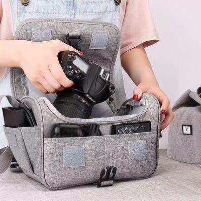 佳能尼康索尼相机包便携防水多功能单反照相机包背包单肩包斜跨包