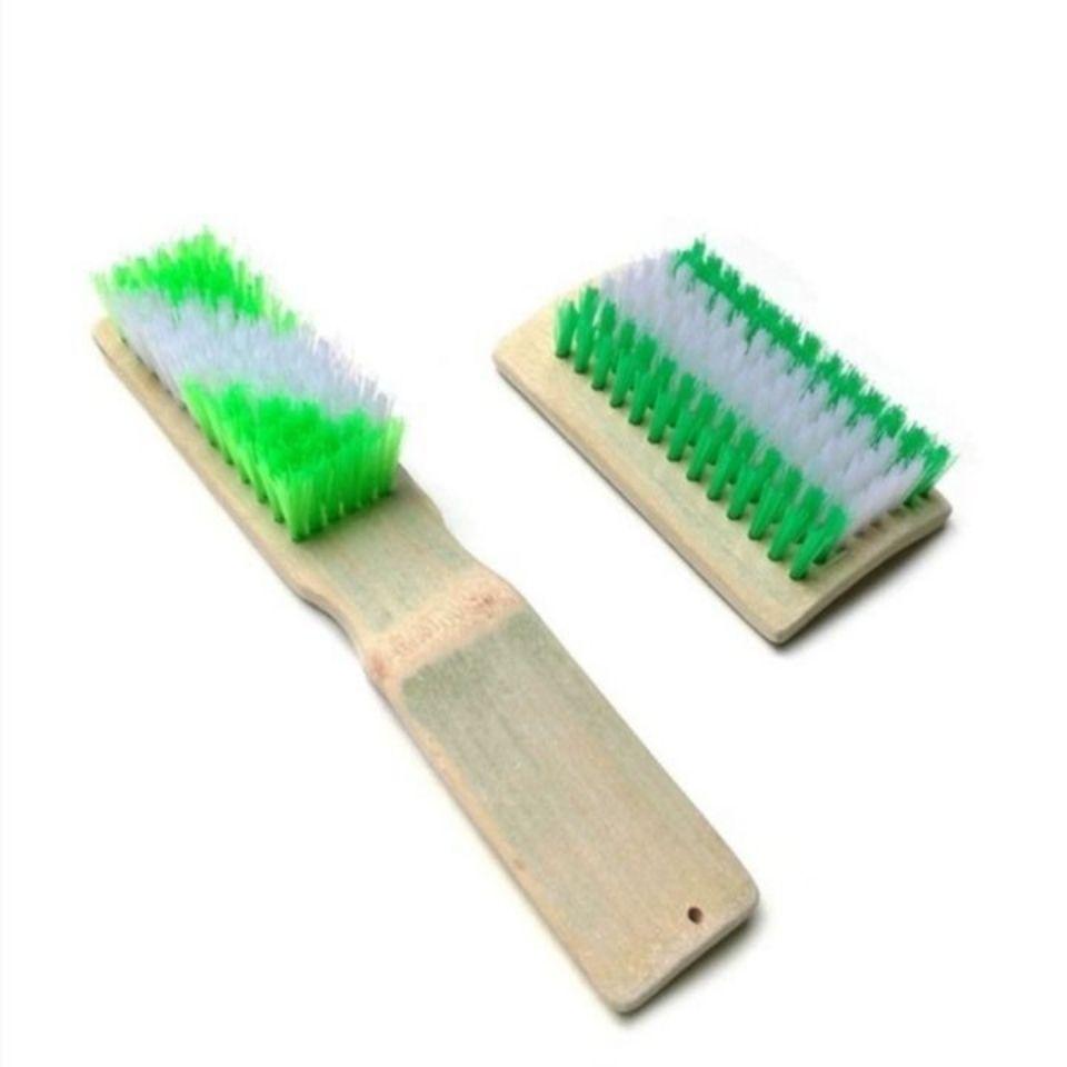 天然竹制洗衣刷方刷长刷鞋刷加厚竹板刷子清洁刷多功能塑料刷