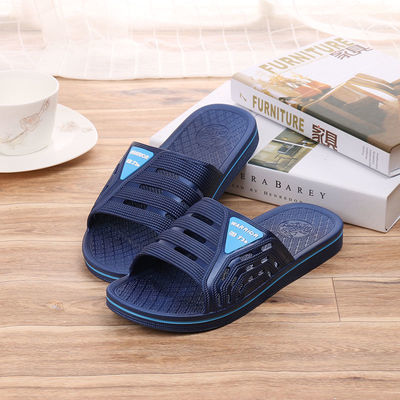 上海回力3563男士潮夏季室内居家浴室防滑厚底耐磨一字舒适凉拖鞋