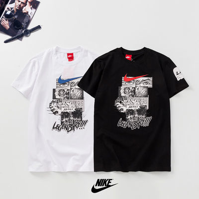 潮牌NK短袖T恤男女同款2020新款潮英雄联盟LPL涂鸦图案网红同款