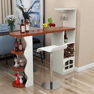 包邮家用吧台桌简约现代吧台桌酒柜客厅餐厅隔断柜简易靠墙小吧台