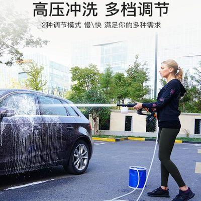 点烟器电池一体无线洗车机器家用高压水泵充电锂电池便携式水枪