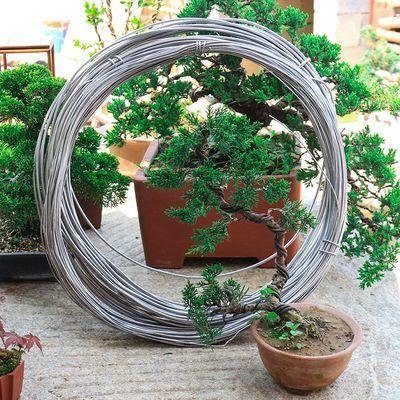 盆景造型专用铝丝铝条园艺盆景用品定型盆景整形铝线DIY扎丝
