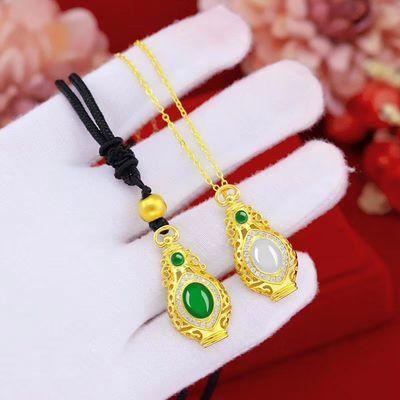 缅甸翡翠直播玉宝瓶吊坠戒指耳环耳钉玉石貔貅手链项链女男珠宝