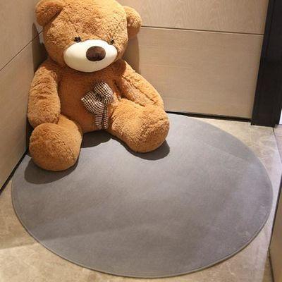 圆形地毯卧室客厅儿童吊篮电脑椅地垫吊椅垫子茶几毯床边简约家用