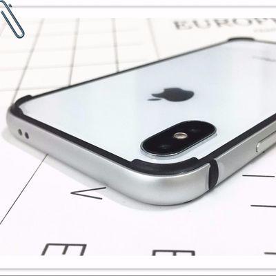苹果x手机壳xs金属边框xr金属硅胶保护套xsmax防摔壳11pro散热壳