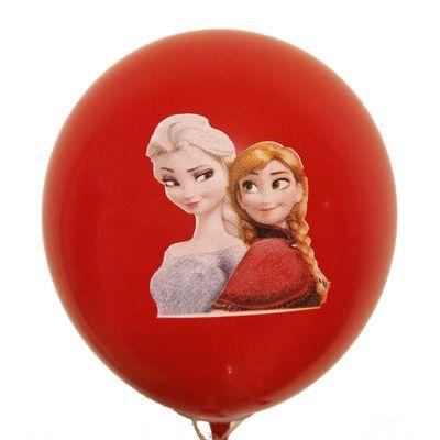 加厚大号儿童可爱多款混搭卡通彩色玩具地推气球100个装批发包邮