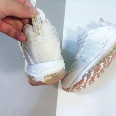 自主品牌陈冠希97联名款气垫运动跑步鞋男鞋脚肥拍大半码或一码