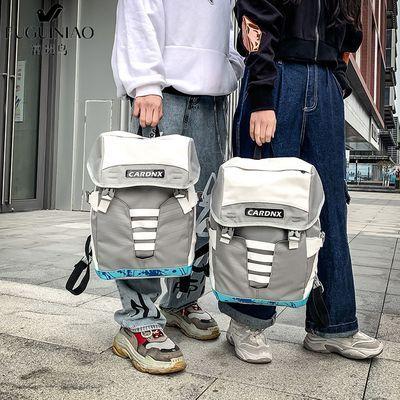 富贵鸟双肩包男电脑背包女防震超火定型户外双肩运动包时尚潮流