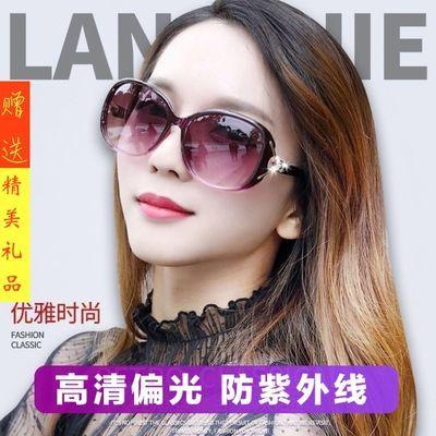 正品墨镜女太阳镜女眼镜女防紫外线墨镜偏光太阳镜网红户外墨镜女