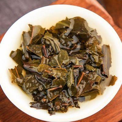 正宗益阳茯茶湖南砖茶青海金花茯茶砖茶黑茶方砖茯茶伏砖茶茶叶