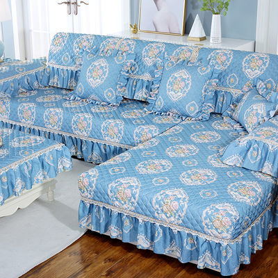 沙发垫四季通用防滑坐垫子全包万能沙发套罩北欧简约靠背垫盖布巾